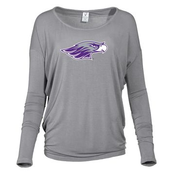 Official NCAA University of Wisconsin - Whitewater Warhawks - PPWWH015 Women's Loose Pico Top