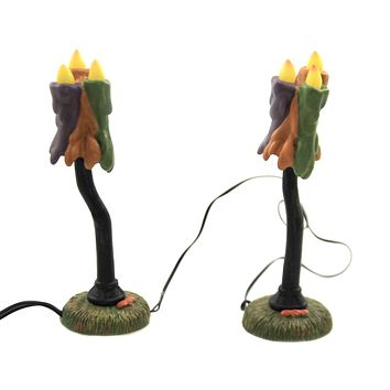 Department 56 Accessory WICKED WAX LAMPS Polyresin Halloween 6003221