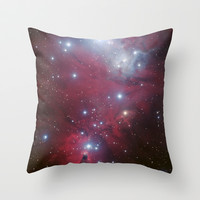 Nebula galaxy unicorn star constellation NASA space stars geek sci fi star landscape photo Throw Pillow by iGallery