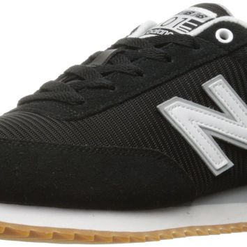 new balance men s 501 lifestyle fashion sneaker black white 12 d m us