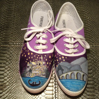 Custom Hand Painted Shoes- Disney Tangled Theme