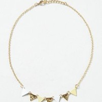 Pastis Bunting Necklace by Anthropologie Yellow One Size Necklaces