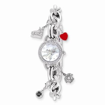 Ladies NHL Washington Capitals Charm Watch