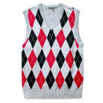 Shop Now! Ugly Sweaters: Old Navy Argyle Tacky Ugly Golf Sweater Vest  $8 - The Ugly Sweater Shop