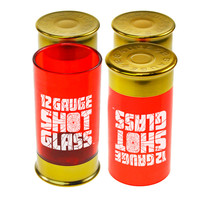 Stupid.com: 12 Gauge Shot Glasses (set of 4)