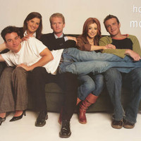 How I Met Your Mother Cast Poster 24x36