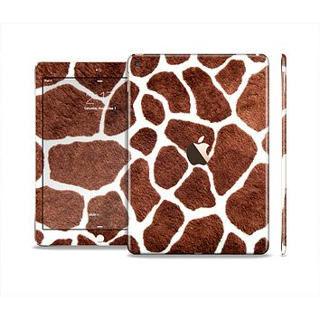 The Real Giraffe Animal Print Skin Set for the Apple iPad Pro