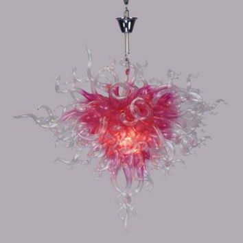 Luxurious Flower Chandelier Hand Blown Murano Glass for Bar