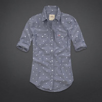 Emma Wood Dot Denim Shirt