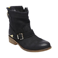Steve Madden - CHAPS BLACK LEATHER