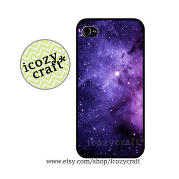 galaxy iPHONE 4 CASE iPhone 5 case iPhone 4S by icozycraft on Etsy