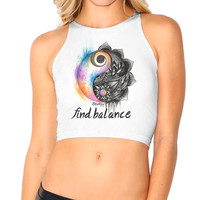 ZenWithEm Find Balance Crop Top