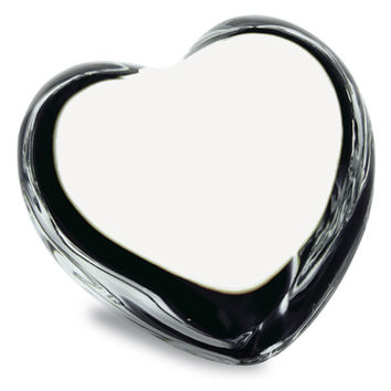 Baccarat Clear Heart Puffed Crystal 1761531