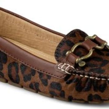 Sperry Top-Sider Jenna Driver Leopard, Size 8M  Women's Shoes
