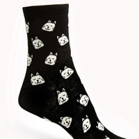 Cat Parade Crew Socks