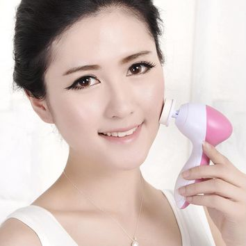 Deep Clean Electric Face Cleaner, Skin Care Massage, Facial Cleansing Brush
