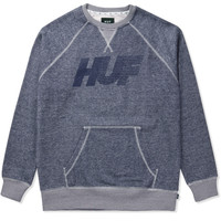 HUF Heather Navy Vintage 10K Sweater