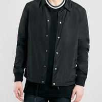 Black Coach Jacket - Topman