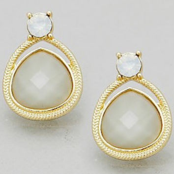 Dainty Jewel Beaded Earrings