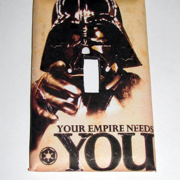 Light Switch Cover - Light Switch Plate Star Wars Your Empire Needs You
