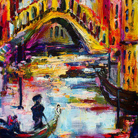 Venice Rialto Bridge Travel Italy 2016 by Ginette Callaway