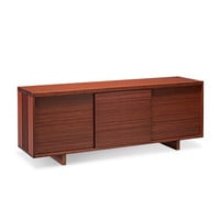 Greenington Hazel Sideboard/Entertainment Center in Dark Chocolate