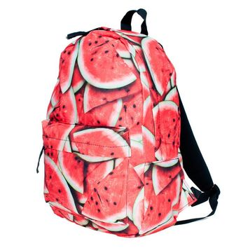 Backpack women Fashion Preppy Style Watermelon pattern school