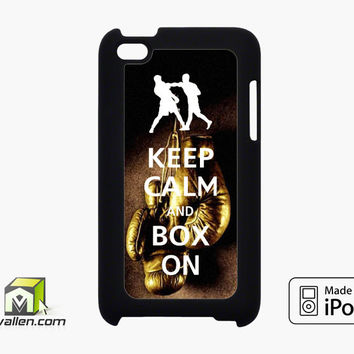 Keep Calm Wwe Boxing Gloves iPod Touch 4th Case Cover by Avallen