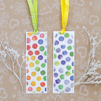 Happy Owls Bookmarks - Handmade Bookmark with cute owls