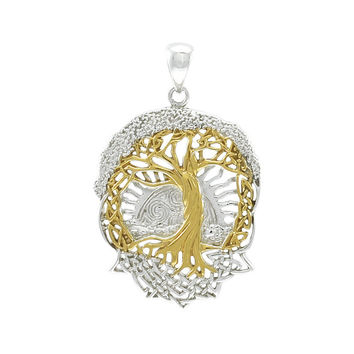 Celtic Tree of Life Pendant MPD974