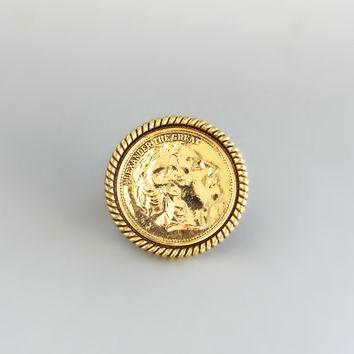 Alexander the Great Ring - Handmade