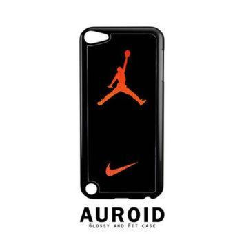 DCCKHD9 Nike Air Jordan Jump Man Air iPod Touch 5 Case Auroid