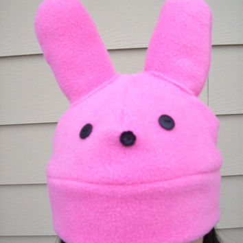 Peep Peep Bunny hat for Easter  Pink Kawaii cute for children teens AND adults  Irresistible