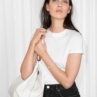 & Other Stories | Cotton Jersey T-Shirt | White