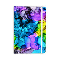 """Claire Day """"Mermaids"""" Blue Paint Everything Notebook"""