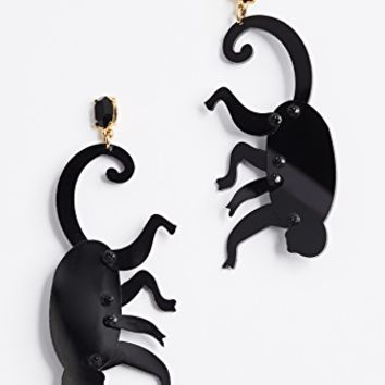 Monkey Hoop Earrings