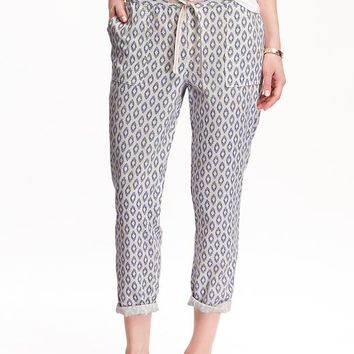 Luxury Loges Navy LinenBlend Pants  Women  Zulily