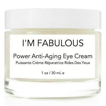 Power Anti-Aging Eye Cream, organic