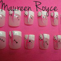 Breast Cancer Month Nail Set