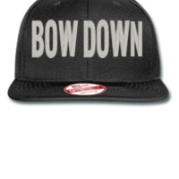 BOW DOWN  Bucket Hat, - New Era Flat Bill Snapback Cap