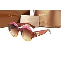 Gucci sunglass AA Classic Aviator Sunglasses, Polarized, 100% UV protection 2974244969 GG0084S