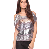Sequin Waves Top