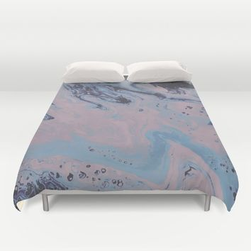 Cold Shoulder Duvet Cover by DuckyB