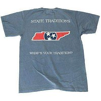 TN Traditional T-Shirt in Blue by State Traditions