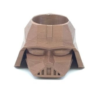 3D Darth Vader Star Wars Planter Pencil holder Succulent Planter 3D Printed Flower pot Home Decor Fall decor Made in the USA