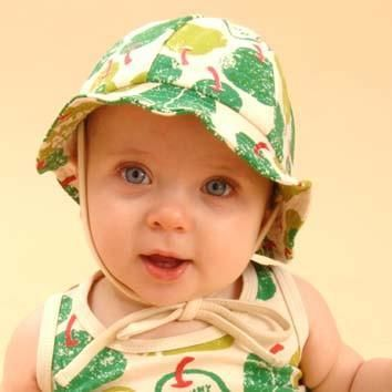 Green Pear Organic Sun Hat