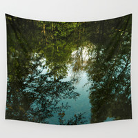 Came Back Haunted Wall Tapestry by Tordis Kayma