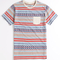 On The Byas Leif Jacquard Crew Tee at PacSun.com