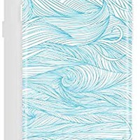Akna iPhone 6/6s case for girls, Get-It-Now Collection High Impact Flexible Silicon Case for both iPhone 6 & iPhone 6s [Blue Wave](215-U.S)