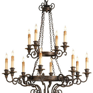 Currey Company Galleon Chandelier
